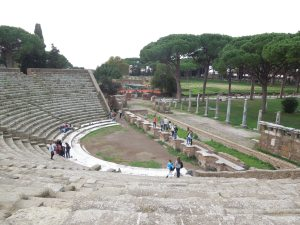 Theater at Ostia Antica
