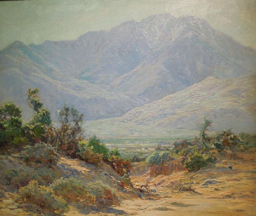 Mount San Jacinto by John Frost, 1926