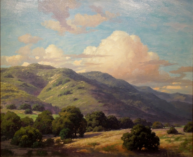 Beverly Hills by Paul Grimm (1891-1974), Private Collection, Courtesy of The Irvine Museum