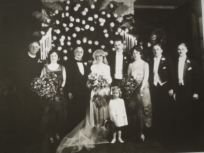 The 1924 Sabin-Underwood Wedding Party