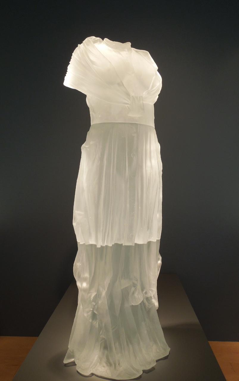 Pianist's Dress Impression, 2005, by Karen LaMonte.  Palm Springs Art Museum.