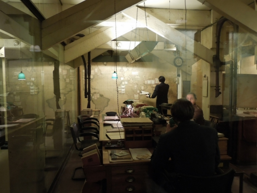 Map Room, Churchill War Rooms