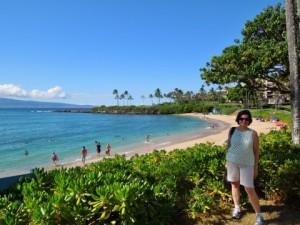 Me at Kapalua Bay, Maui