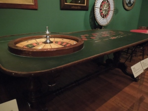 Roulette Table. After 1900.