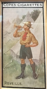 One of several activities of Boy Scouts and Girl Guides, 1910