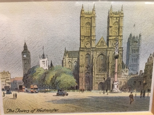 "From the 1931 series ""Picturesque London"""