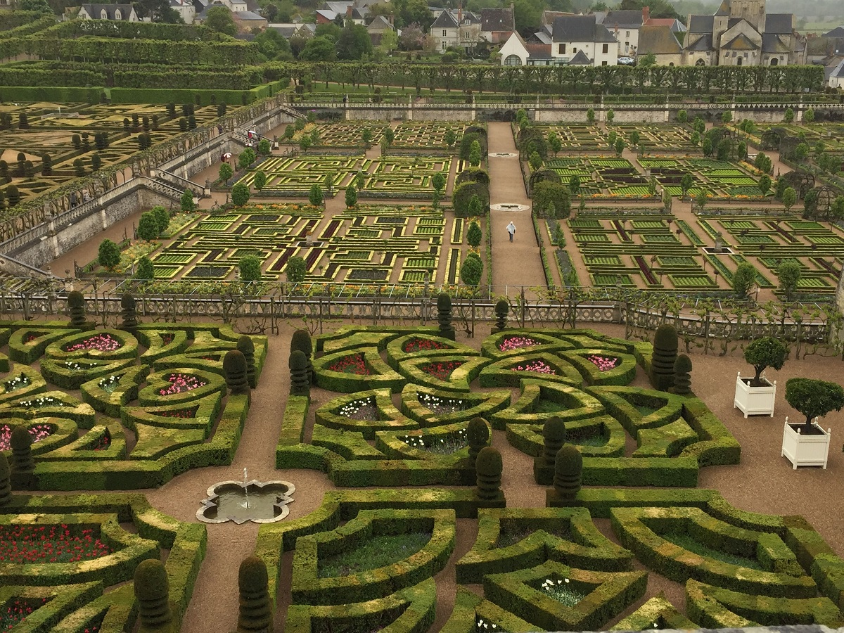Love in France: The Garden of Villandry Chateau – Past and Present ...