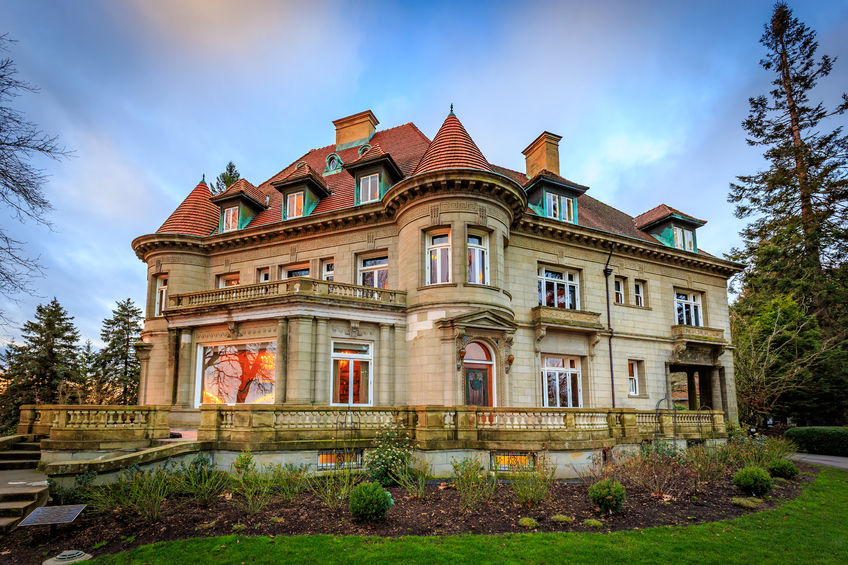 Stock photo Pittock Mansion