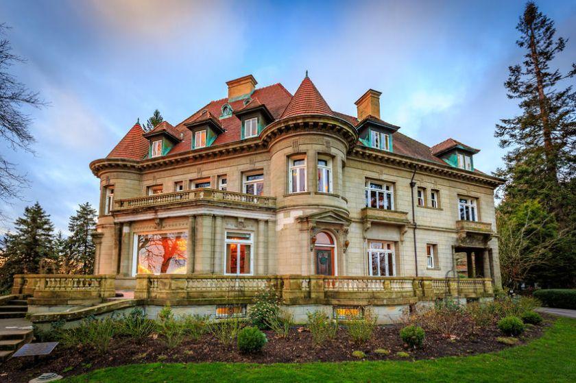 Stock photo Pittock Mansion