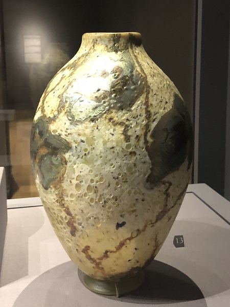 Tiffany's Favrile Glass Vases at the Huntington 001